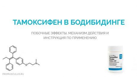 Тамоксифен в бодибилдинге после курса стероидов: побочные эффекты и инструкция по применению
